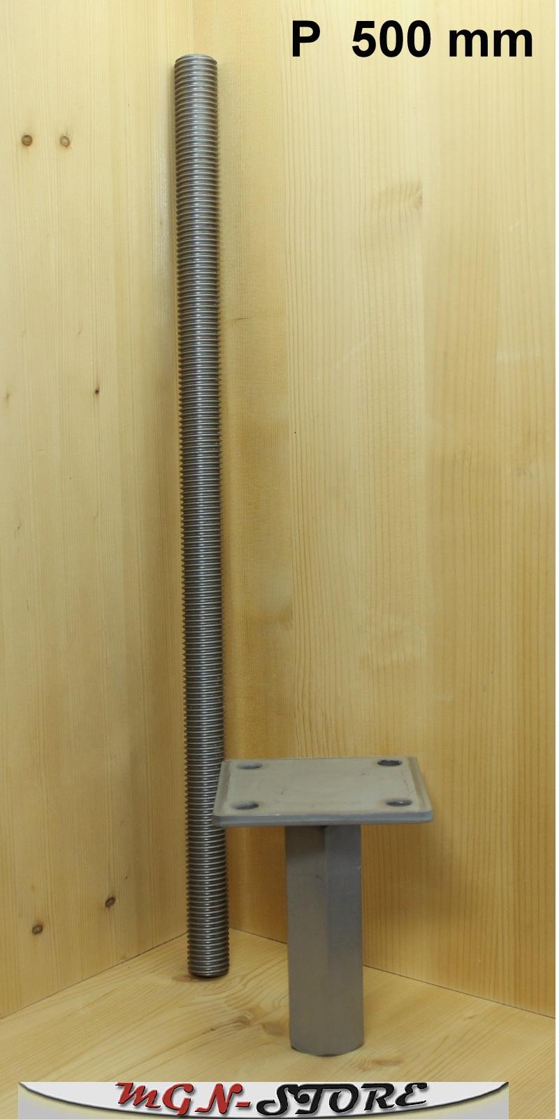 mgn store pitzl pfostentr ger typ p zinip nutzungsklasse 3 zum einbetonieren 500 mm. Black Bedroom Furniture Sets. Home Design Ideas